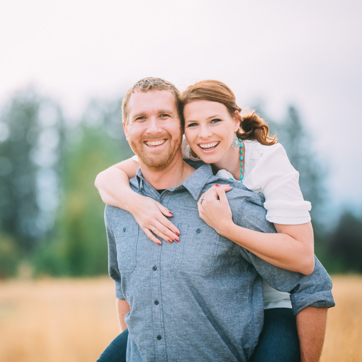 Brian & Whitney | Engagement Session, Pine Nursery Park | Bend, OR Portrait Photography